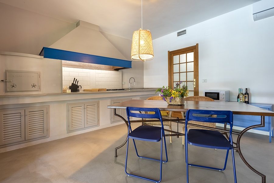 Domus 1 luxury villa cucina