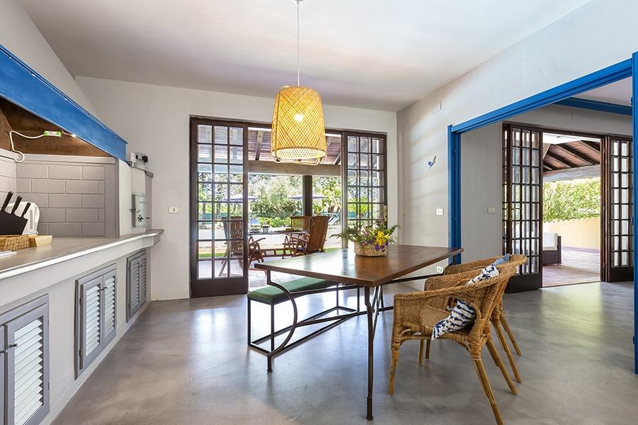 Domus 8 luxury villa cucina