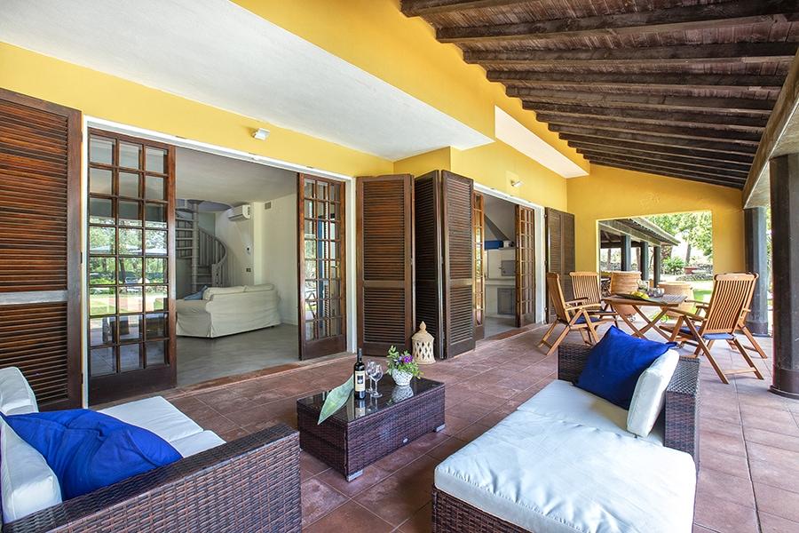 Domus 8 luxury villa loggiato