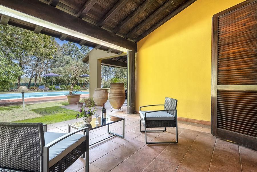 Loggiato con piscina Domus 1 - luxury villa