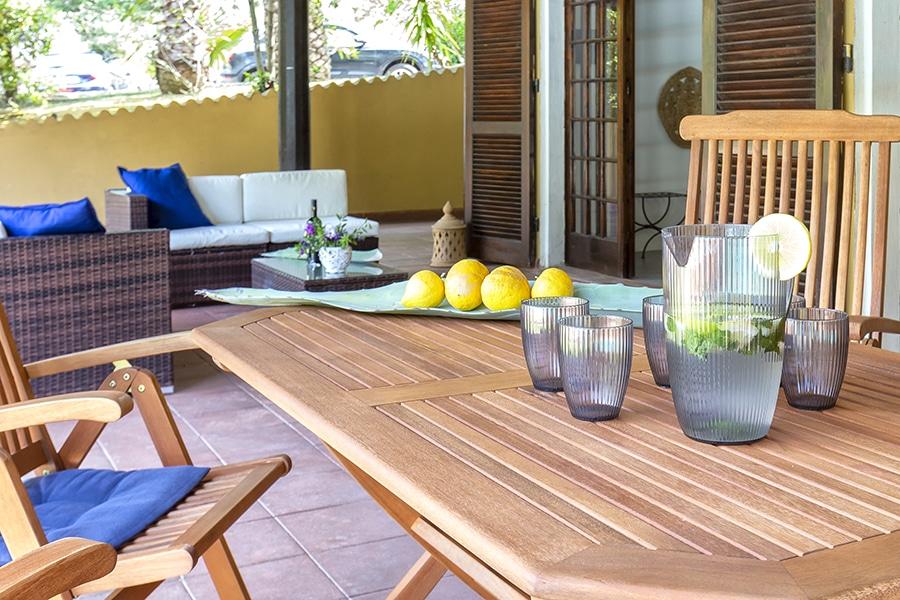 Domus 8 luxury villa particolare loggiato