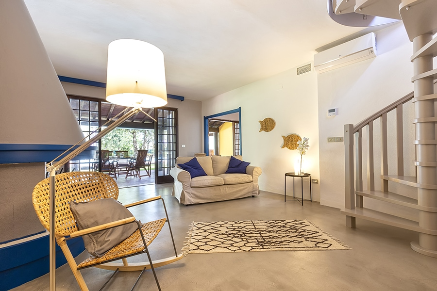 Domus 1 luxury villa soggiorno